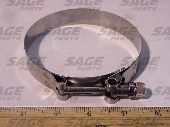 Picture of CLAMP, T-BOLT 3.75 - 4.06 ZINC BOLT
