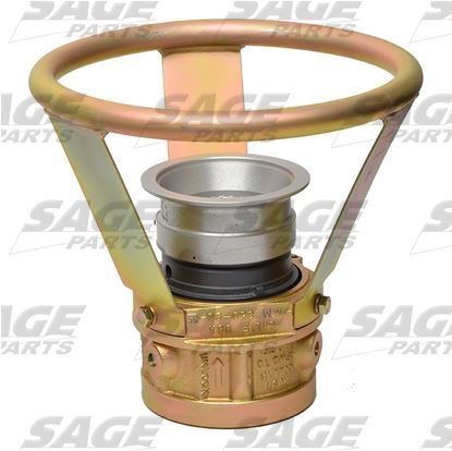 Air Start Coupling with Flange