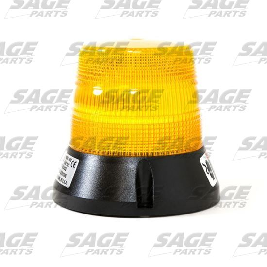 Amber Beacon Light with Pigtail