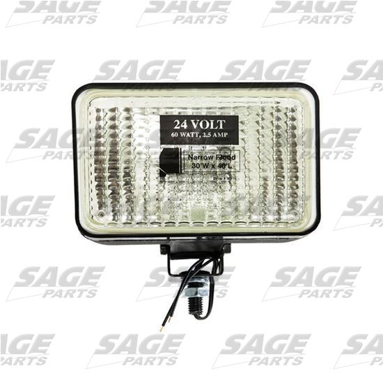 Halogen Swivel Mount Lamp 24 Volt