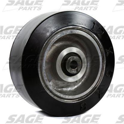 12x5x8 Solid Tire Bogie Wheel Commander 15