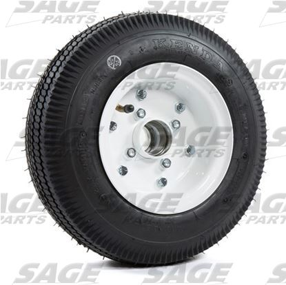 Tire Assembly Wheel and Hub with Bearings