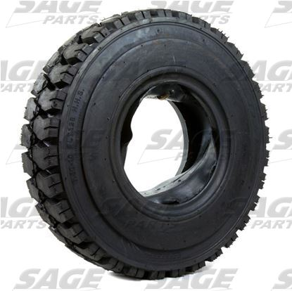 6.50 x 10 x 10 Tire Tube and Flap 10 Ply