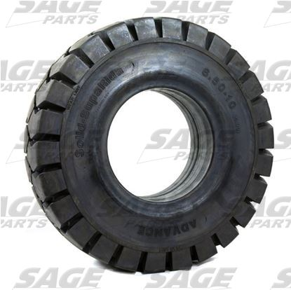 6.50 x 10 Tire Solid