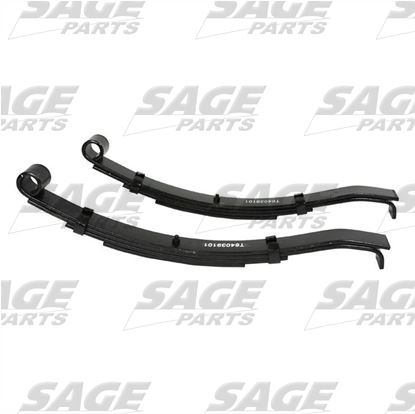 4 Leaf Type Leaf Springs MA