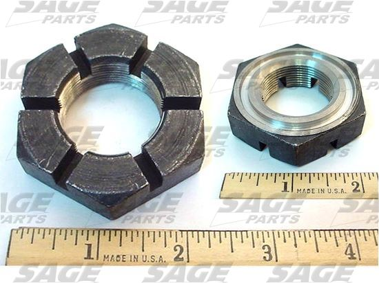 Picture of NUT, AXLE WITH RING GROOVE