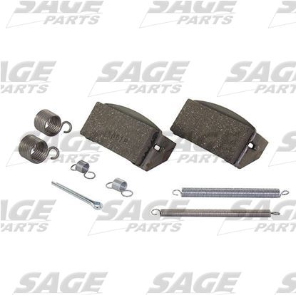 Parking Brake Pads Kit Pushback