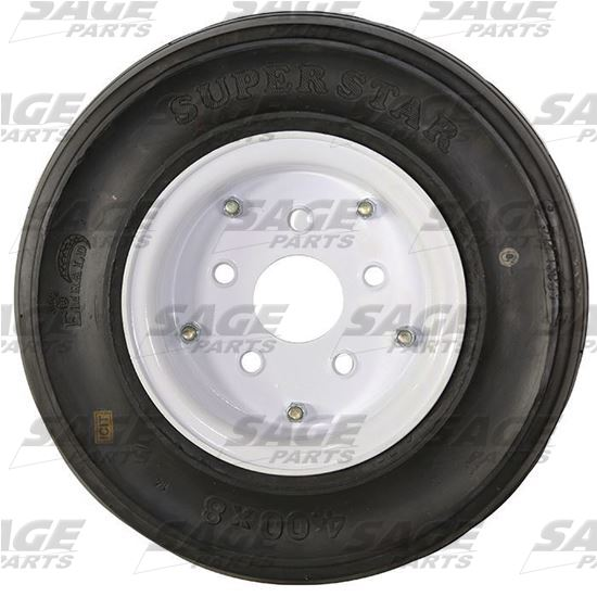 Tire and Wheel, 3-Stage White