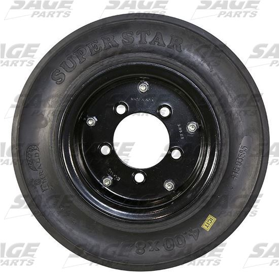 Tire and Wheel, 3-Stage Black