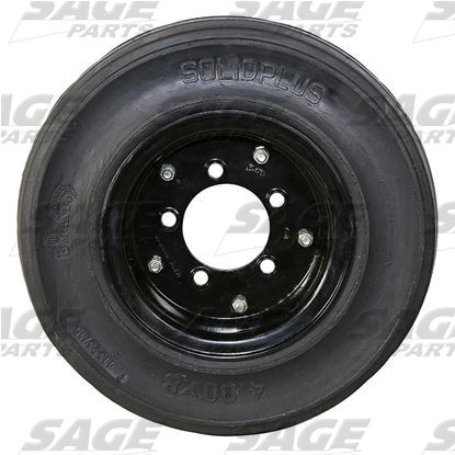 Tire and Wheel, 2-Stage Black