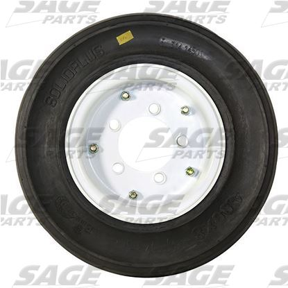 Tire and Wheel, 2-Stage White